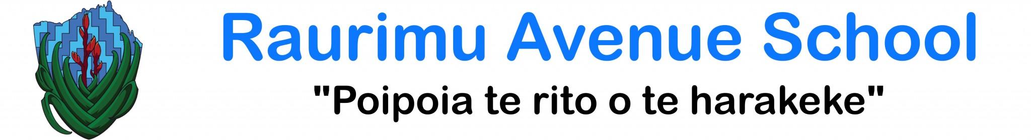 Raurimu Avenue School Logo